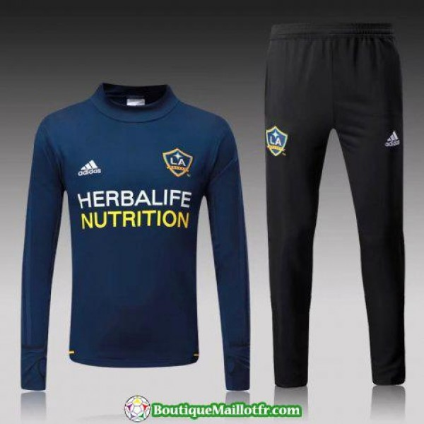 Survetement La Galaxy 2017-2018 Col Haut Bleu Prof...