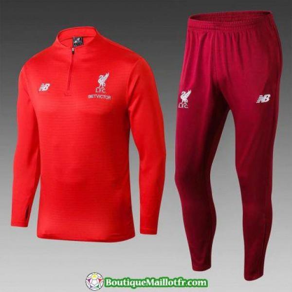Survetement Liverpool 2018 2019 Fermeture Eclair R...