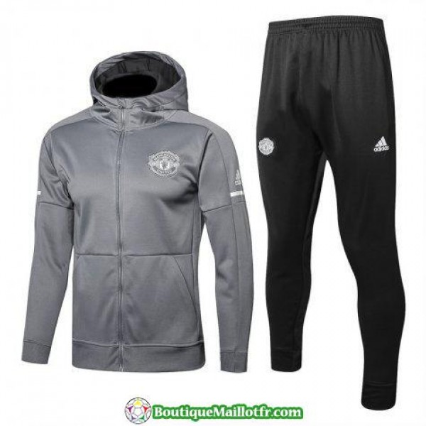 Sweat A Capuche Manchester United 2017 2018 Ensemb...