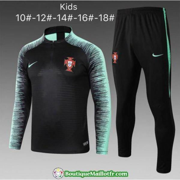 Survetement Portugal Enfant 2018 2019 Fermeture Ec...