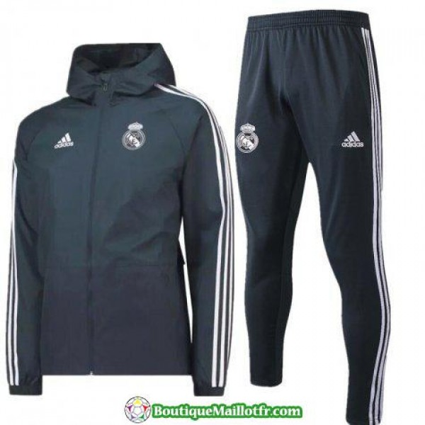Coupe Vent Real Madrid 2018 2019 Gris