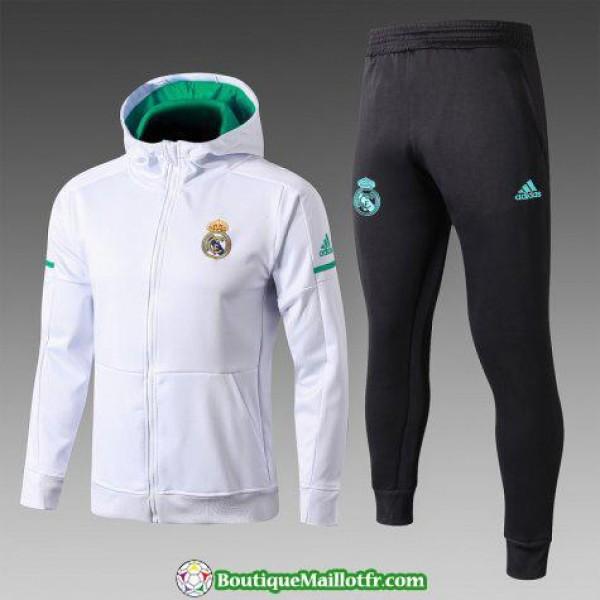 Sweat A Capuche Real Madrid 2017 2018 Ensemble Com...