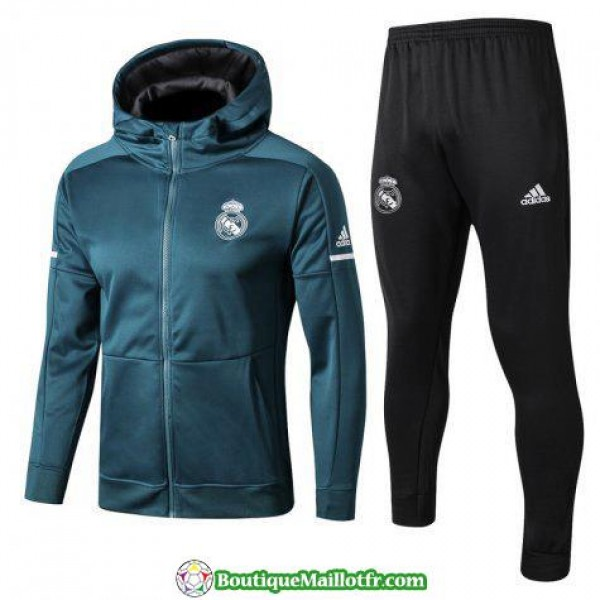 Sweat A Capuche Real Madrid 2017 2018 Ensemble Com...